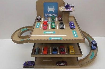 Home Dzine Craft Ideas Cardboard Crafts For Kids