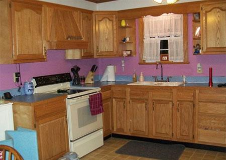 HOME DZINE Kitchen How To Paint Kitchen Cabinets