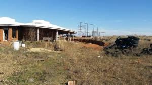 solar array placement earthbag home oklahoma