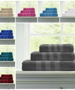 Super Soft 100% Egyptian Cotton 500 GSM Hand Towel Bath Towel & Bath Sheet