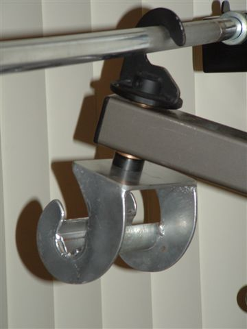 Power Spot Self Spotting Barbell And Dumbbell Machine