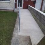 Concrete Wheelchair Ramp