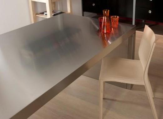 Cuisine inox sur mesure  vier mobilier table crdence plan de travail