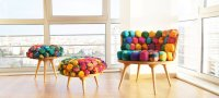 Colorful Recycled Furniture | Home Inspiration