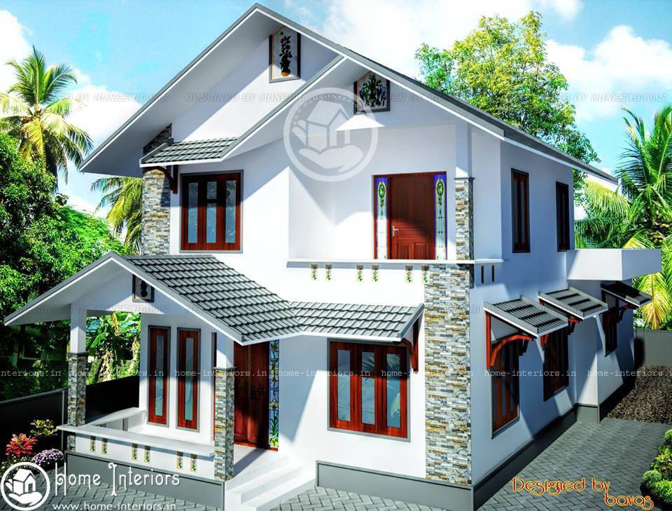 Double Floor Beautiful Kerala Home Design & Plan