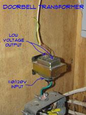 Wiring Doorbell Transformers | Doorbells | Electrical