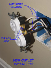 120v Receptacle Wiring How To Install An Outlet Receptacles Electrical