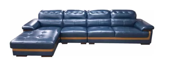 recliner sectional sleeper sofa apartment sofas blue leather reclining couch with