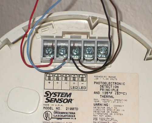 napco burglar alarm system diagram led autolamps wiring connecting 2 wire smoke detectors