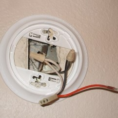 Firex Smoke Detector Wiring Diagram Double Capacitor Single Phase Motor Replacing Electric Detectors - 110-volt Hardwired Alarms