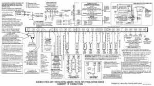 Ademco Vista 20P Wiring Diagram