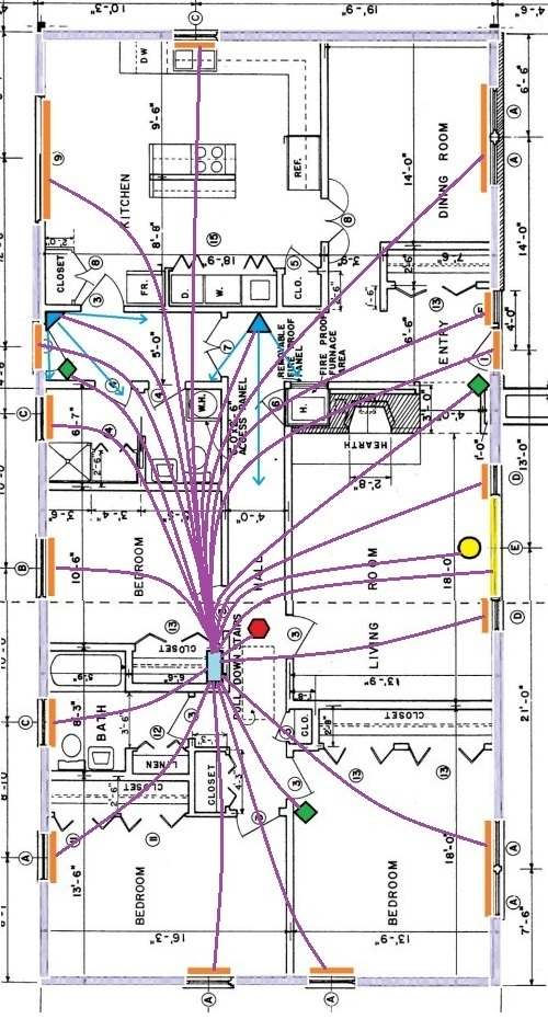 Wiring Diagram For Home Alarm System