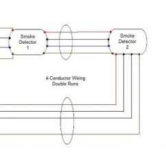 Smoke Alarm Wiring Diagram 4 Pin Indicator Relay Detector Connecting Multiple Runs Wire