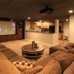 neutral home theater colors
