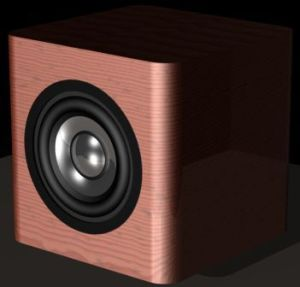 budget-mini-cube-speakers-cherry-vinyl-veneer