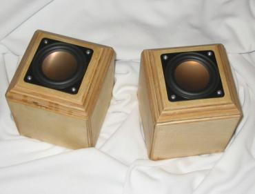 Mini Cube Speakers And Custom Speaker Boxes Quot Alternative