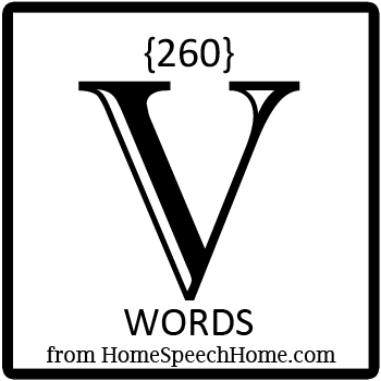 260+ V Words, Phrases, Sentences, & Paragraphs Grouped by