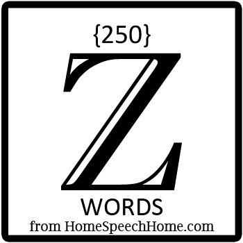 250+ Z Words, Phrases, Sentences, & Paragraphs Grouped by