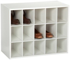 Closetmaid shoe cubby