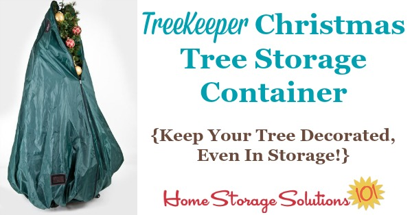 Christmas Tree Storage Container Never Undecorate Your