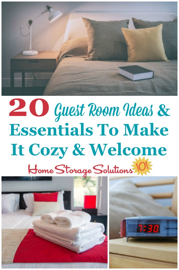 20 Guest Room Ideas Essentials To Make It Cozy Welcome