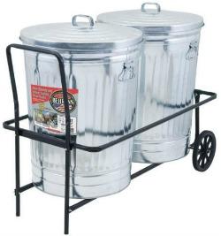 trash can cart 52 week home organization