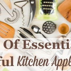 Kitchen Appliances List Lowes Sinks And Faucets Essential Gadgets Small
