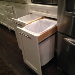 Kitchen Trash Wall Decor For Garbage Cans Pros Cons Of The Varieties Hidden