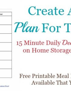 also printable weekly meal planner template rh home storage solutions