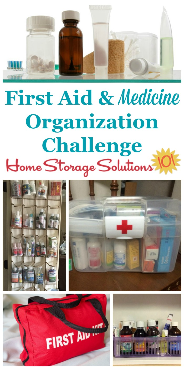 Best Kitchen Gallery: Create A Medicine Organizer First Aid Kit Center In Your Home of Storage Containers Home Organization  on rachelxblog.com
