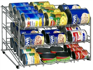 can rack Pantry and Spices Organization