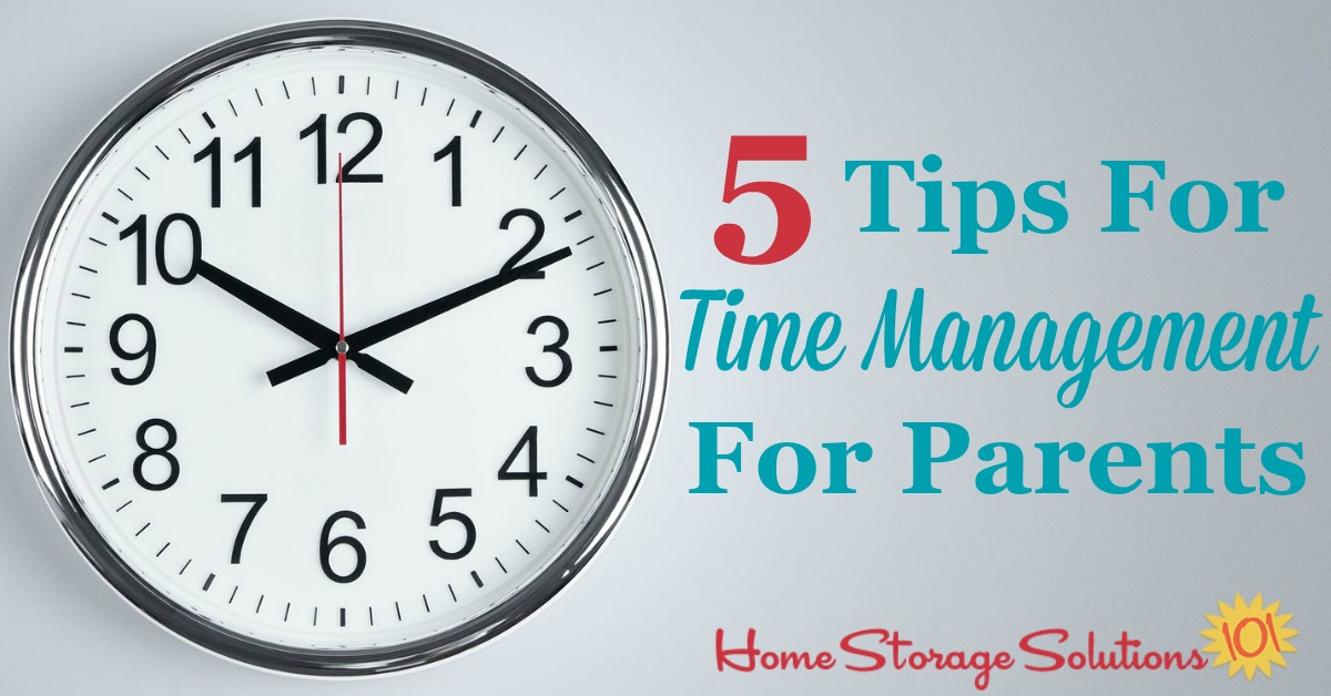 5 tips for time