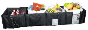 trunk organizer with compartments