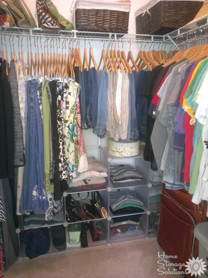 How To Declutter Your Closet Hanging Clothes