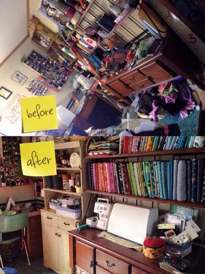 How To Declutter Craft Room Or Crafting Area