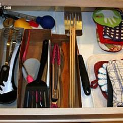 Kitchen Drawer Organizer Ideas Paint Utensil Storage & Organization