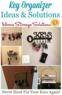 Key Organizer Ideas & Solutions: Never Misplace Your Keys ...