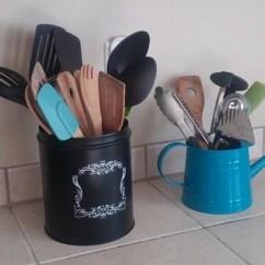 Kitchen Tool Holder Oak Islands Utensil Crock Ideas For Convenience Saving Drawer Space Holders