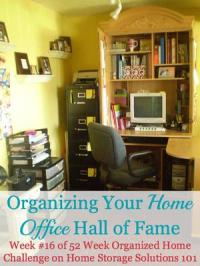 Organizing Your Home Office: Ideas For Where & How To Set ...