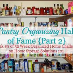 Kitchen Pantry Organization Ideas Epoxy Flooring Organizing And Storage Ideas: Hall Of Fame {part 2}