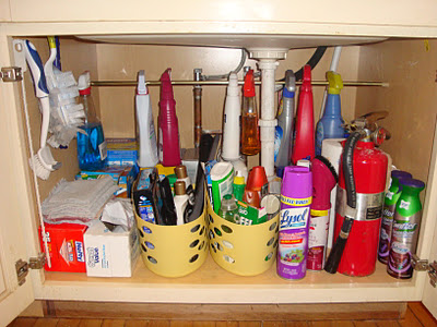 under kitchen sink organizer range hoods cabinet organization ideas you can use after notice the tension rod