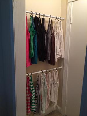 How To Organize Tank Tops  Camis