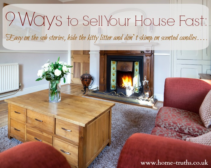Nine Ways To Sell Your House Fast