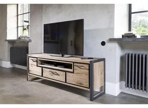 meuble tv metalo 170x60 h h home villa