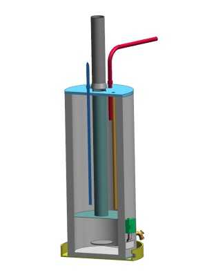 water heater backdrafting how to fix