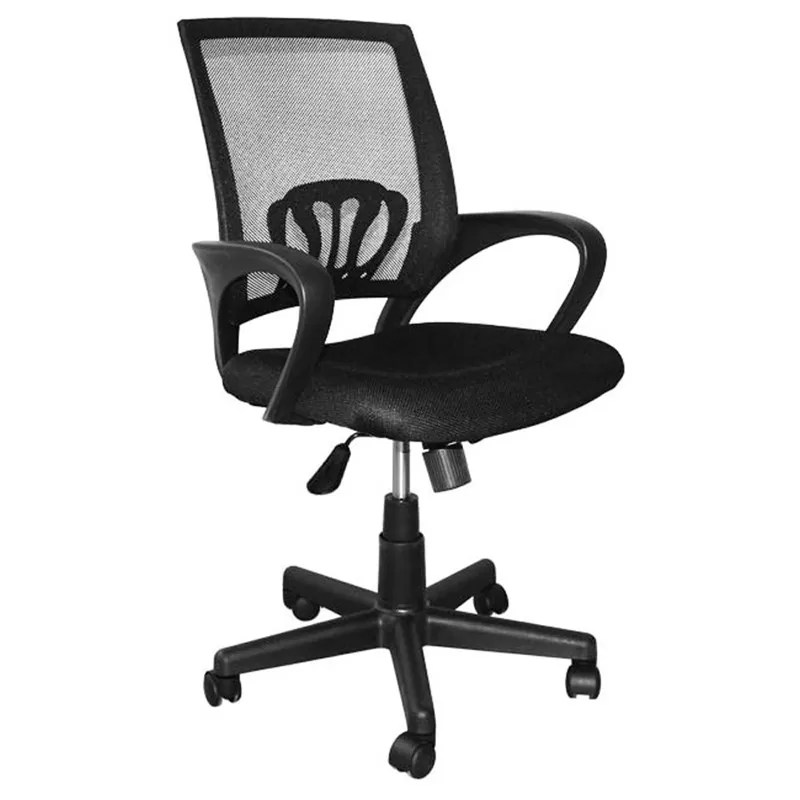 swivel office chair with wheels covers coventry 9kg chairs high back computer lumbar support