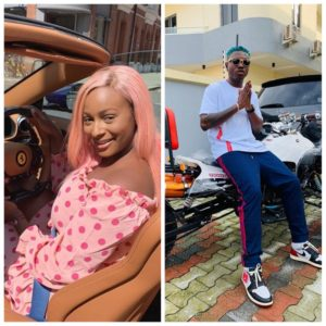 DJ Cuppy Gifts Zlatan Ibile A Costly Headphone 2