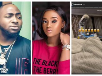 Davido Welcomes Child With Fiancee, Chioma Avril Rowland (Photos)