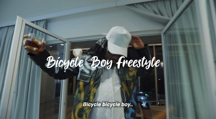 Ice Prince – Bicycle Boy (Freestyle)