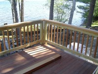 Woodwork How To Build Wood Railing On A Deck PDF Plans
